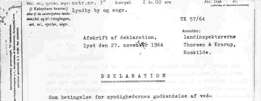 Deklaration 1964