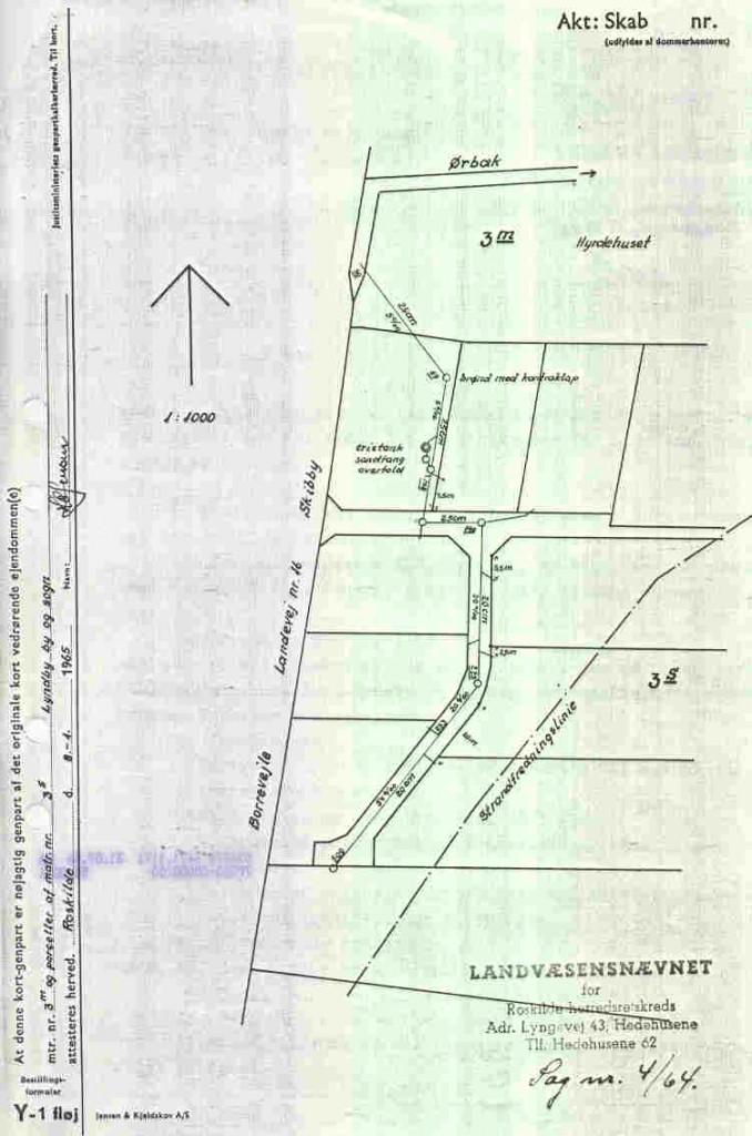 Kloakplan 1965