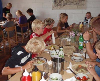Reerslev fritids- og ungdomsklub. Sommerkoloni 2008