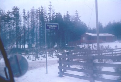Granbakken forår 1969